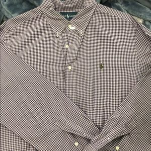Men's long sleeve buttoned down